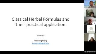 Classical Herbal Formulas And The Practical Application