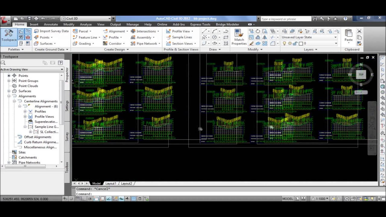 Tutorial Autocad Civil 3d 2013 Bahasa Indonesia 6 Cross