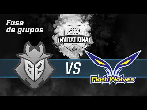 Día 1- [G2] G2 esports vs [FW] Flash Wolves - Fase de grupos MSI 2016