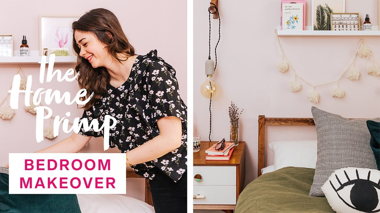 Gorgeous Bedroom Makeover On A Budget Small Bedroom Design Ideas The Home Primp Youtube