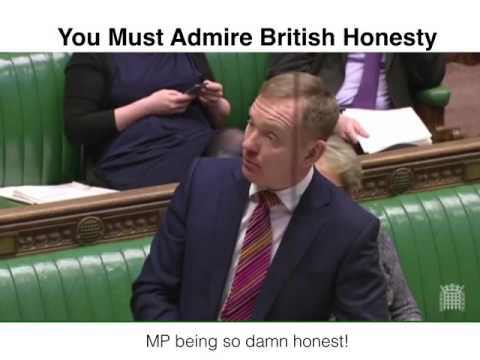 British MP Honesty about Migrants