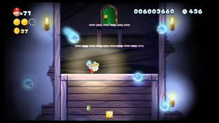 [WiiU] New Super Mario Bros U Mundo 5 (Jungla Sirope) Nivel Boo (El laberinto tenebroso) Secreto