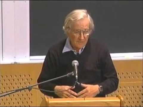 """Noam Chomsky """"Current Crises in the Middle East"""""""