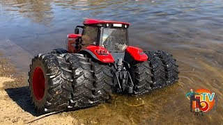 BRUDER RC TRACTOR McCormick MUD Water trouble!