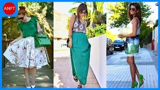 How to Wear Green Combination to Look Fresh
