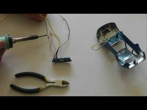 LED Beleuchtung in Slot Car einbauen – Opel GT – Do it yourself No.2