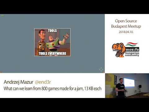 Andrzej Mazur - What Can We Learn From 800 Games Made For A Jam, 13KB Each (OSBP Meetup 2018.04.10.)