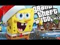 SPONGEBOB'S CHRISTMAS MOD (GTA 5 PC Mods Gameplay)