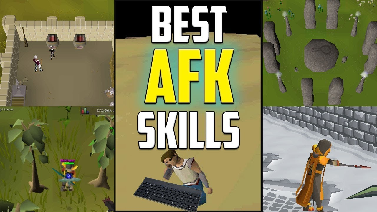The 5 Best Skills To AFK In Old School Runescape