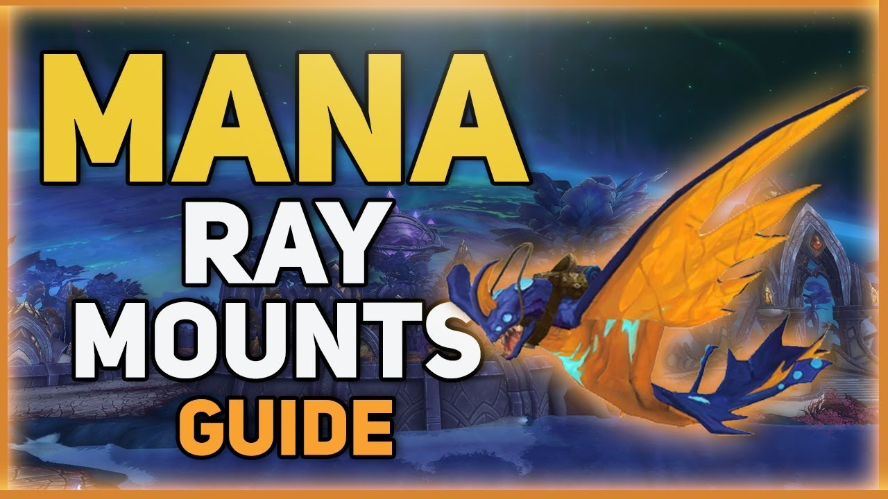 How To Get Fel Spotted Eggs In Patch 73 5 Mana Ray Mounts Youtube