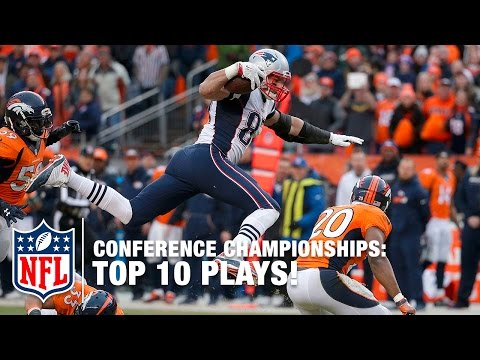 Top 10 Plays (Championship Weekend) | NFL Highlights