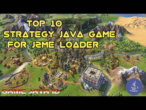TOP 10 STRATEGY JAVA GAME FOR J2ME LOADER (ANDROID)