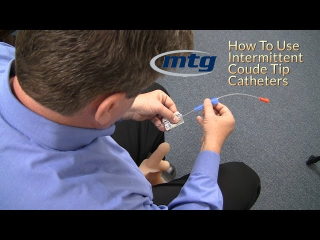 How To Use A Urinary Intermittent Coude Catheter