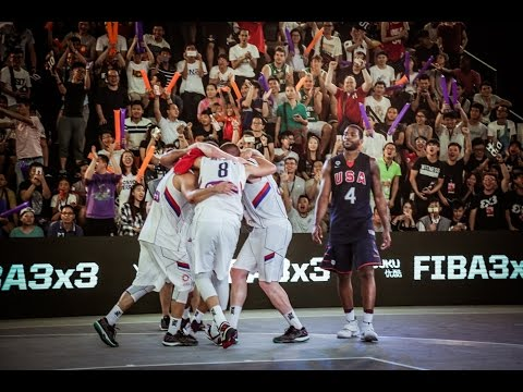 Serbia - USA - Men's Final FIBA 3x3 World Championships