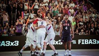 Serbia - USA - Men's Final FIBA 3x3 World Championships