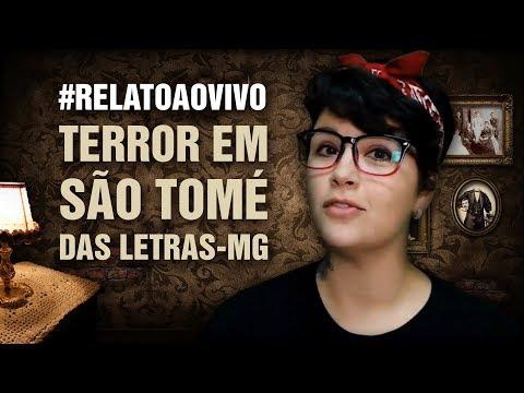 #RelatoAoVivo - 63: Terror em São Tomé das Letras-MG - C/ Fotos! + Explicação Pessoas Pequenas!