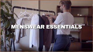 Menswear Essentials: Building the Foundation of your Wardrobe | Menswear 101