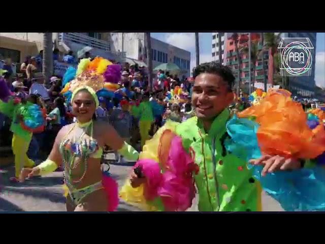 Se realiza la edición número 96 del Carnaval de Veracruz