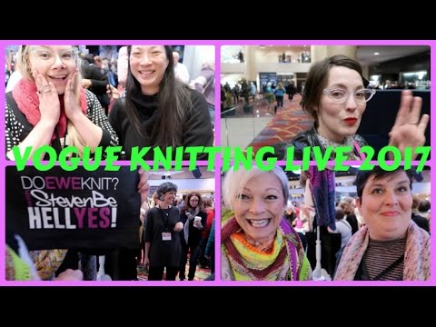 Kristy Glass Knits: Vogue Knitting Live 2017