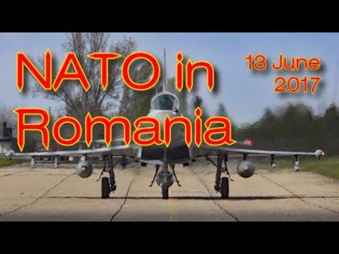 NATO News: RAF Typhoons and Romanian MiGs