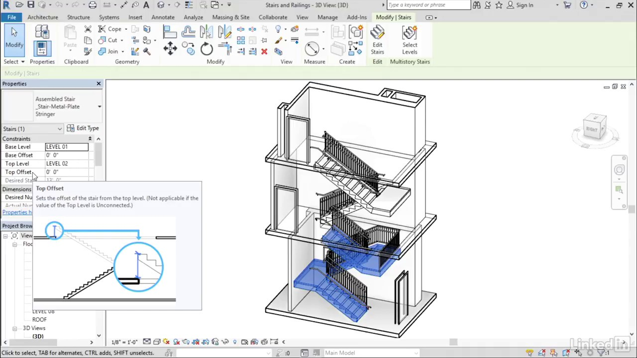 Stair And Railing Ui Enhancements Revit 2018 New