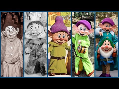 Evolution of the Seven Dwarfs Costumes! - DIStory Ep. 20 - Disney Theme Park History