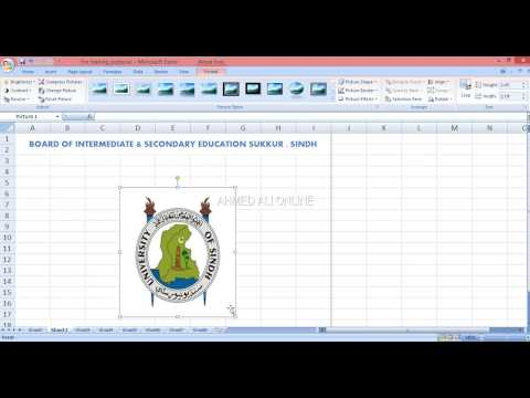 MS Excel TUTORIAL URDU & HINDI Office Complete course one video