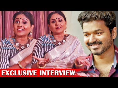 I miss playing a mother to Vijay - Saranya Ponvannan Exclusive Interview