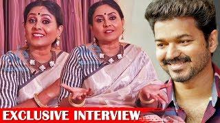 I miss playing a mother to Vijay - Saranya Ponvannan Exclusive Interview