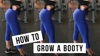 GROW A BOOTY | Glute Workout!