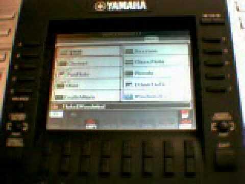 YAMAHA PSR-3000 Keyboard Tutorial 1 MPG