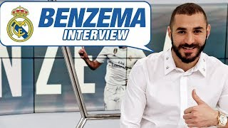 "BENZEMA: ""Real Madrid is the best club in the world."" 