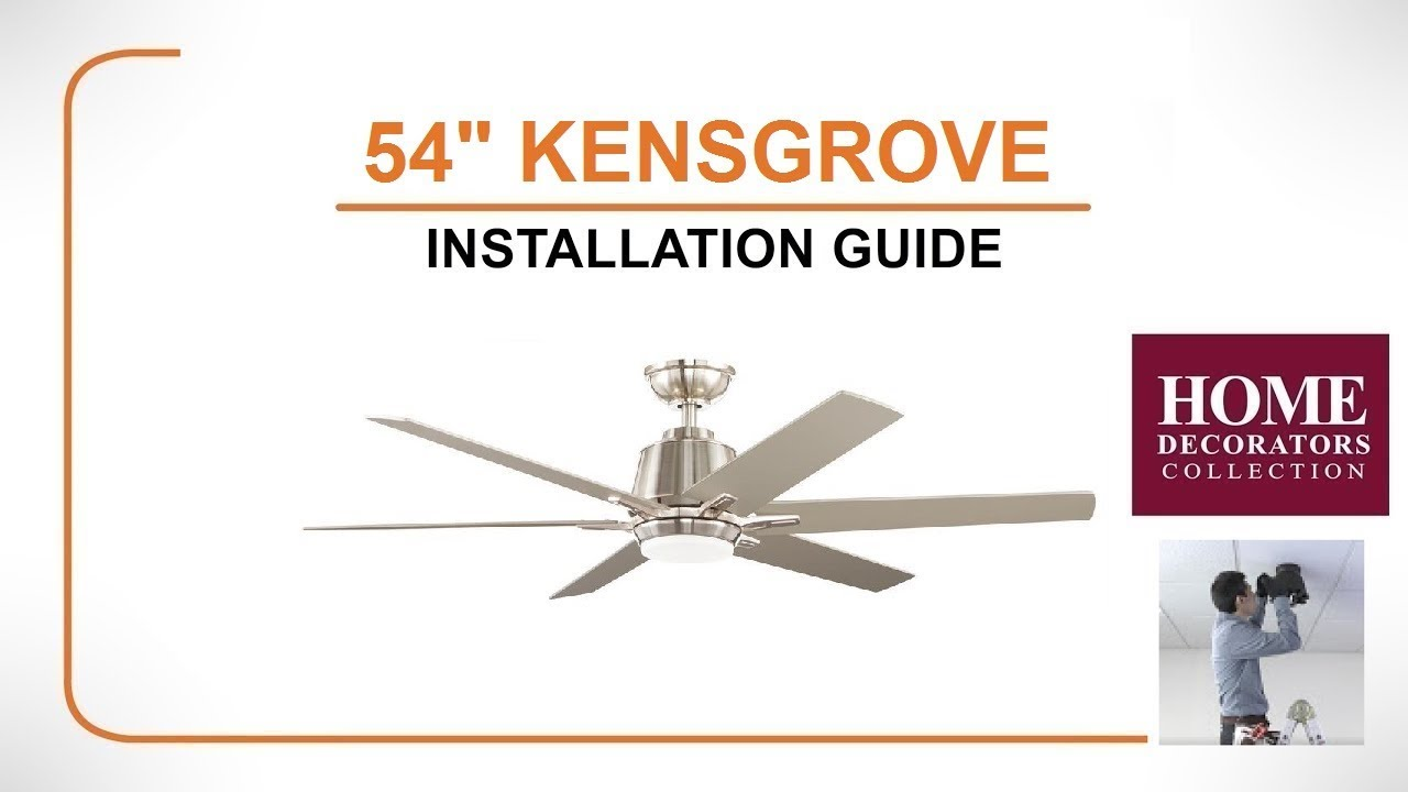 54 kensgrove ceiling fan installation guide youtube 54 kensgrove ceiling fan installation guide swarovskicordoba Choice Image