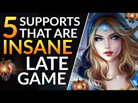 10 BEST Support Heroes Who Are GODS LATE GAME - Drafting And Meta Tips | Dota 2 Guide
