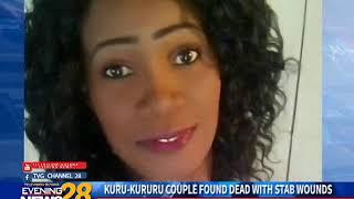 KURU KURURU COUPLE FOUND DEAD WITH STAB WOUNDS 12 11 2018