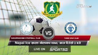 Final -Sudhurpaschim 11Sports Club  VS THREE STAR CLUB   Nepal Ice 4th Farwest Khaptad Gold Cup 2076