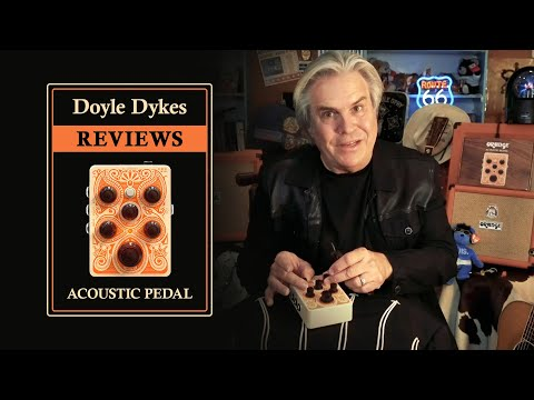 Doyle Dykes REVIEWS the Orange Acoustic Pedal
