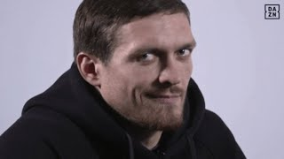 Usyk being hilarious for 5 minutes