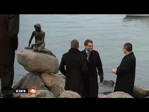 The Little Mermaid returns to Copenhagen (2010-11-20)