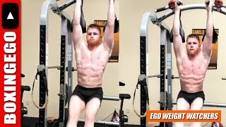 (WOW!!!) CANELO NOT F*CKIN AROUND! SLICED UP-RIPPED while in Gennady Golokvin Training Camp
