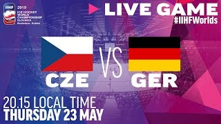 Czech Republic-Germany | Quarterfinals | Full Game | 2019 IIHF Ice Hockey World Championship