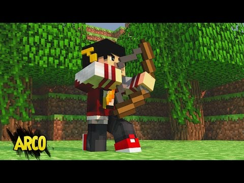 Minecraft: PROVA DE TUDO DIA #2 - Prova Arco e Flecha! ‹ AM3NIC ›