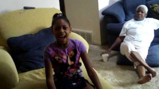 "10 yr.old Taylor singing Beyonce/Etta ""Church Bells"""