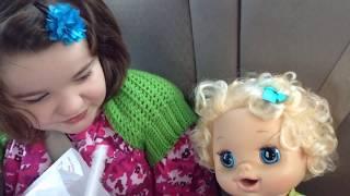 "Adopting ""My Baby Alive"" Doll,  Aleasha ❤️"