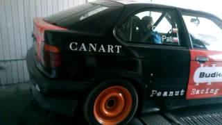 BMW E36 Compact 1.8 IS M42 Hamownia