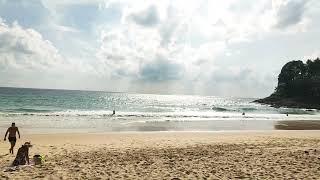 Пхукет волны в июне пляж Сурин . Волны и дожди в июне на Пхукете