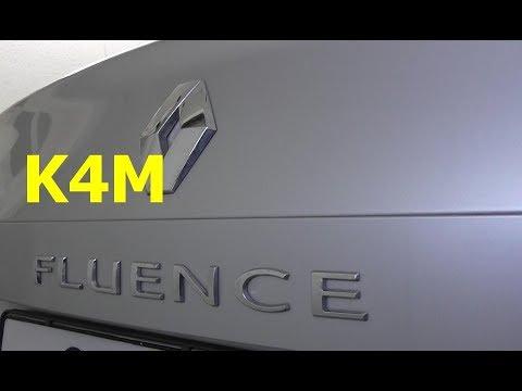 Renault Fluence / K4M / Замена ремней