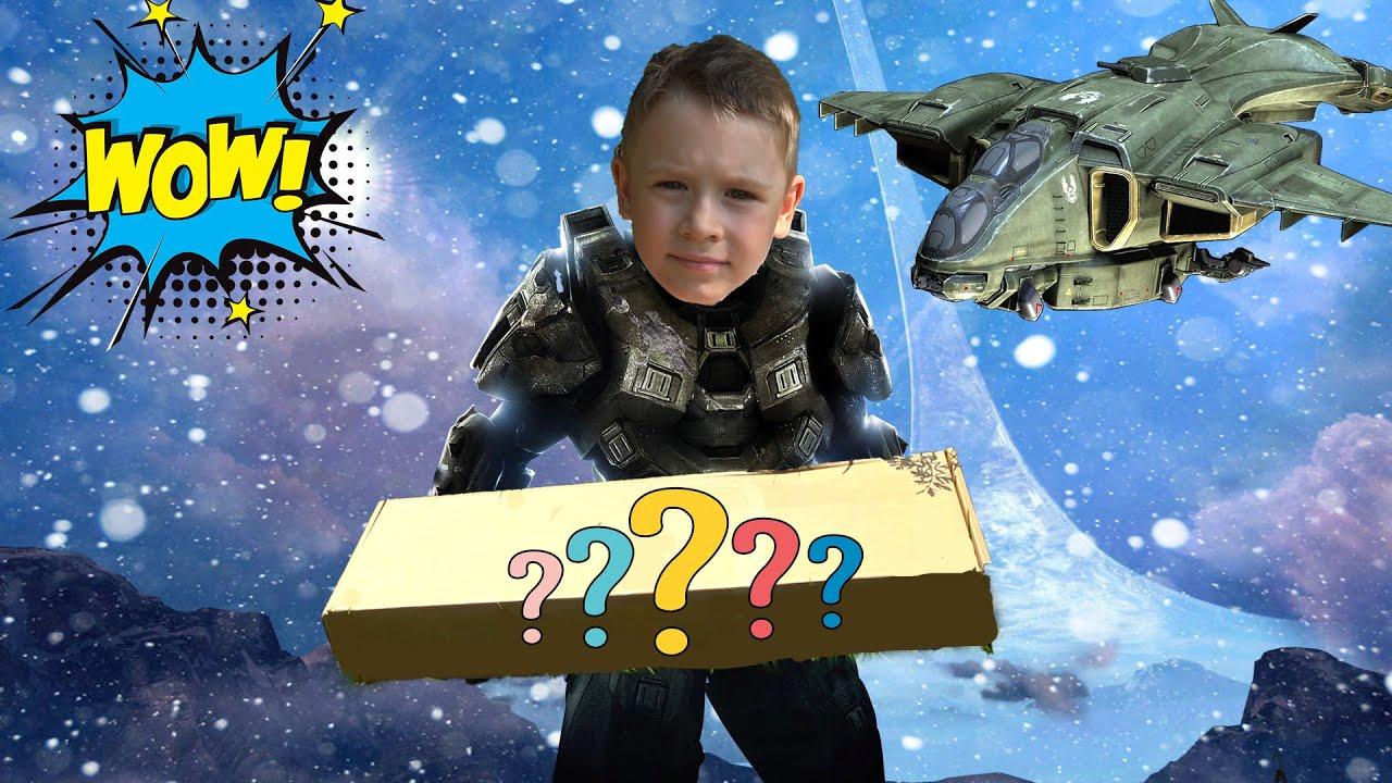 Макс и его новые игрушки Halo infinite и код для дополнения