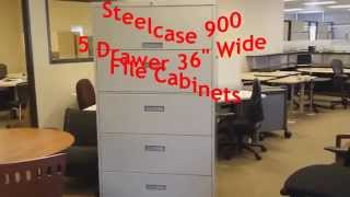 Steelcase 900 Series File Cabinets Used Dallas TX