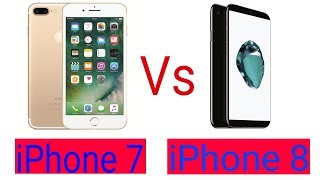 iPhone 7 Vs iPhone 8 Full Comparison || Technical Bondhu ||